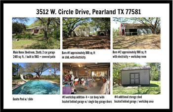3512 W. CIRCLE DRIVE, PEARLAND, TX