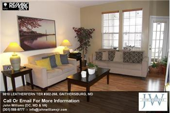 9810  LEATHERFERN TER 302-268, GAITHERSBURG, MD