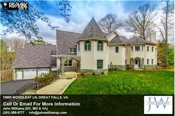10900 WOODLEAF LN, GREAT FALLS, VA