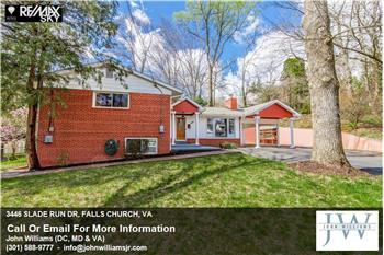 3446  SLADE RUN DR, FALLS CHURCH, VA