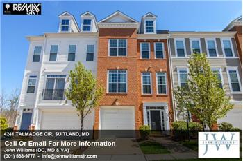4241 TALMADGE CIR, SUITLAND, MD