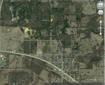 29.65 Acres of Raw Land in Millerton, Millerton, OK