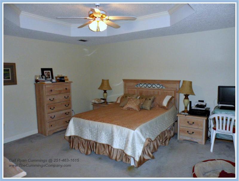 7436 Pinewood Dr, Theodore, AL 36582 Master Bedroom