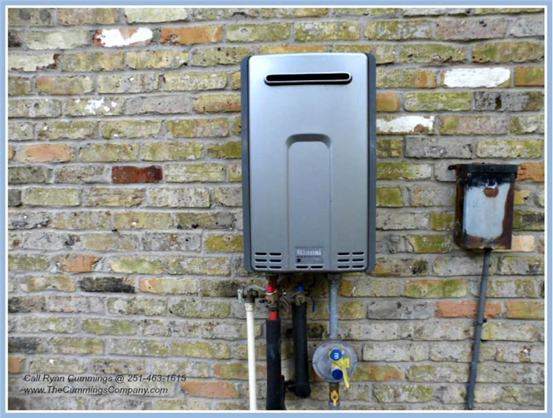 4251 Blue Rd Theodore AL 36582 Rinnai Tankless Water Heater