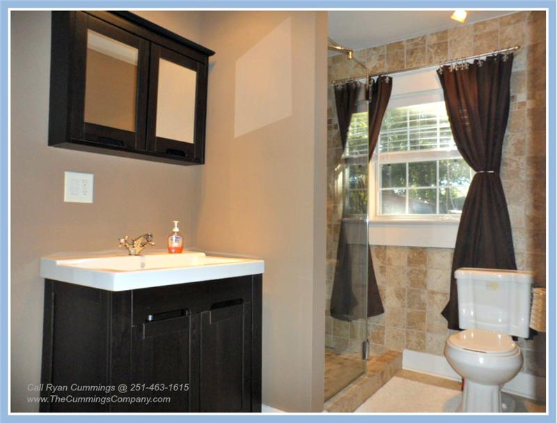Bathroom at 2563 Kossow St Park Place Mobile AL 36607