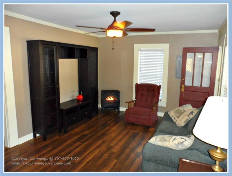 Living Room at 2563 Kossow St Park Place Mobile AL 36607