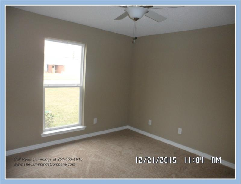 Second Bedroom at 9661 Misty Leaf Dr, Mobile, AL 36695