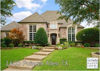 1605 Putnam, Allen, TX