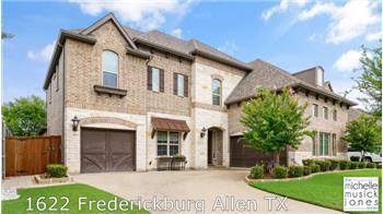 1622 Frederickburg, Allen, TX