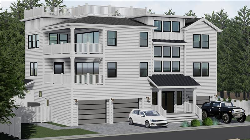 A NEW HOME OF OUTSTANDING MERIT...This to-be-built connoisseur's choice located on the oceanblock w/oceanviews in Haven Beach!