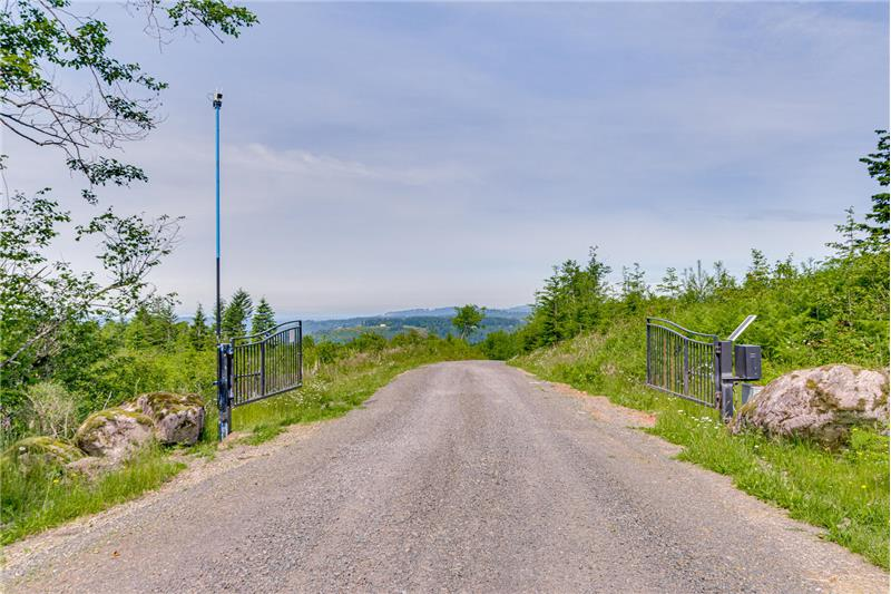 Gated Private Road