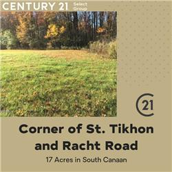 Corner of St. Tikhon & Racht Road, South Canaan, PA